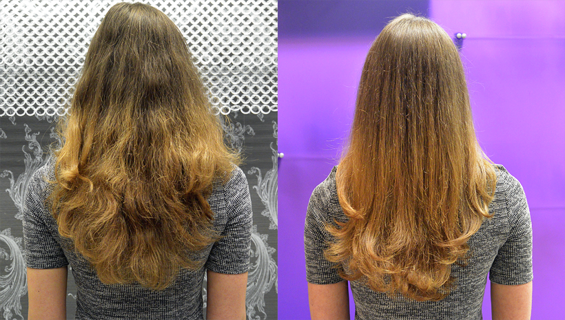 Last Wednesday I Had The Pleasure Of Being Treated To A Four Step Hair Treatment With Joico Products At Salon Judging By Before And After Pictures