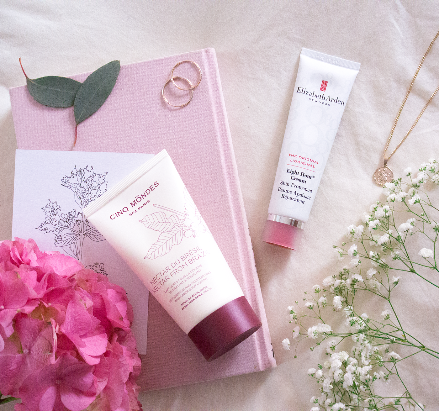 elisabeth arden 8 hour cream cinq mondes NECTAR FROM BRAZIL IN-SHOWER MOISTURIZER review