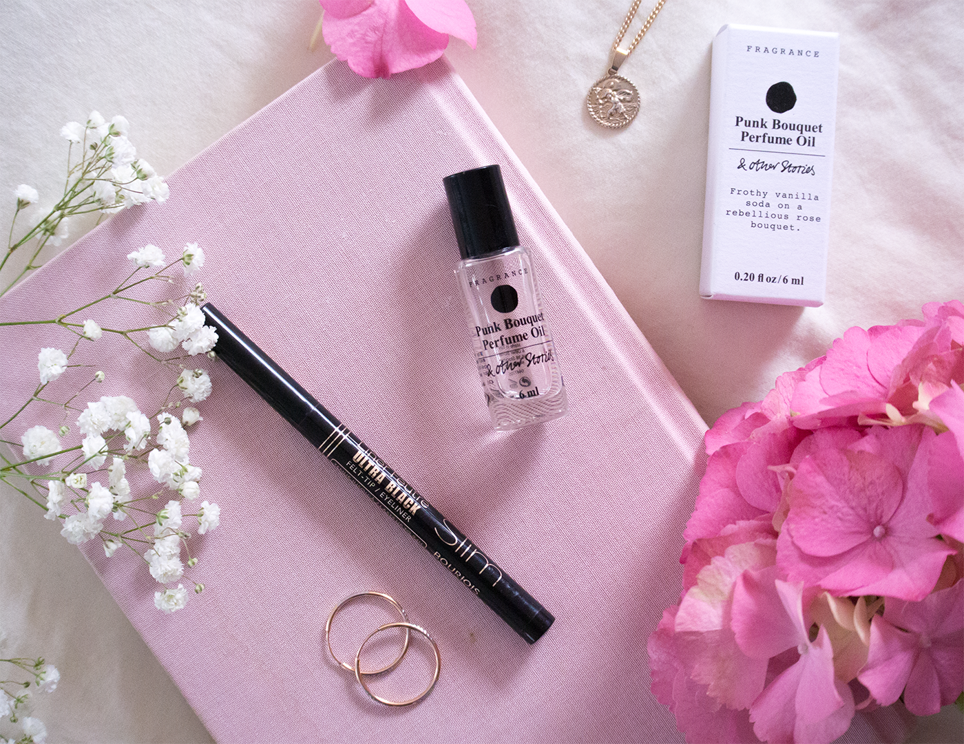 & other stories punk bouquet perfume oil bourjois liner feutre review