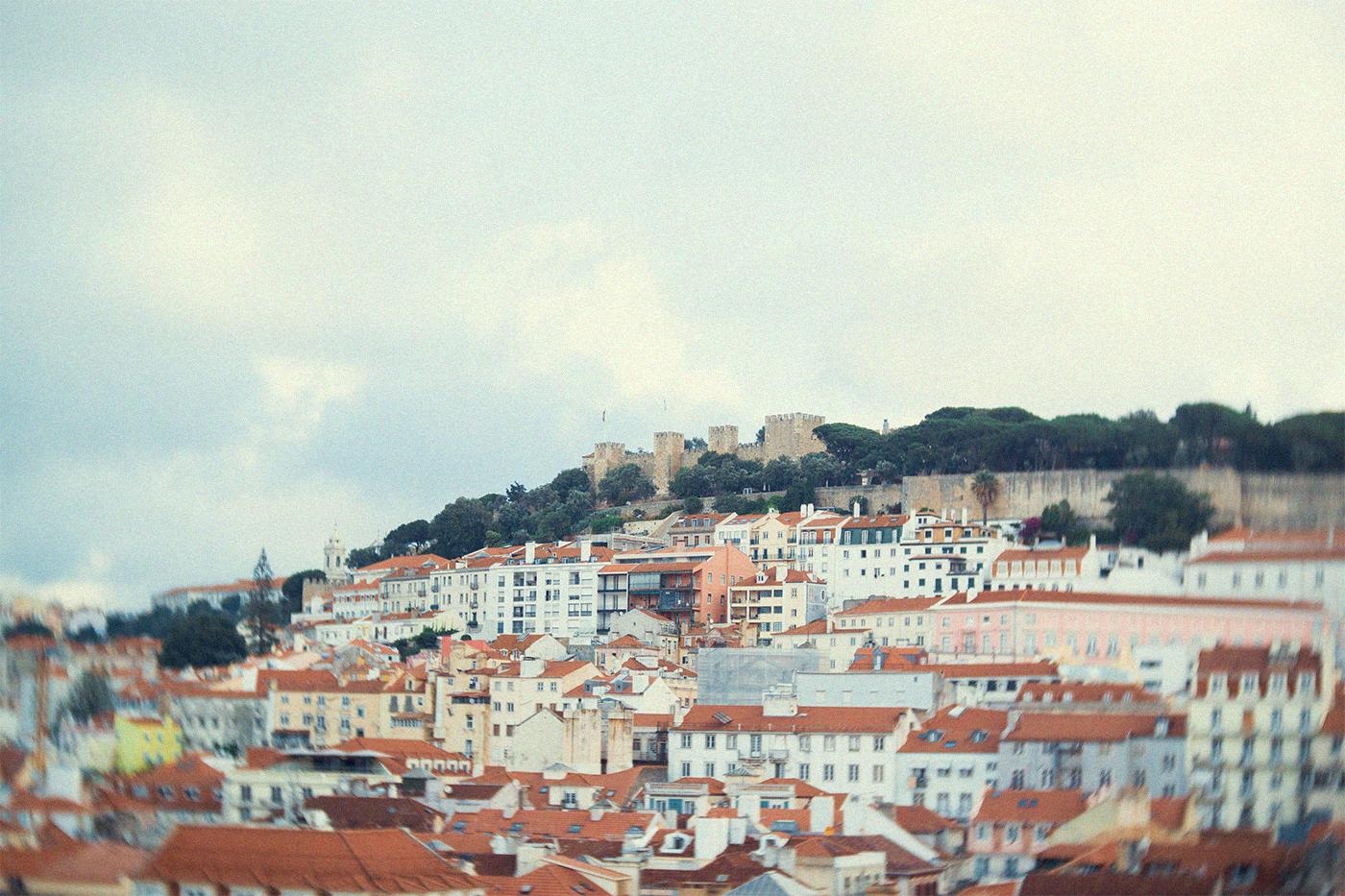 lisbon platform castle view